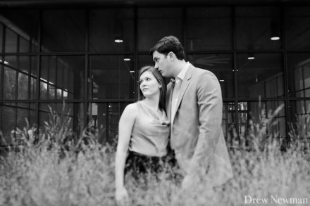 A lovely fall engagement session in Atlanta Georgia captured by Drew Newman Photographers.