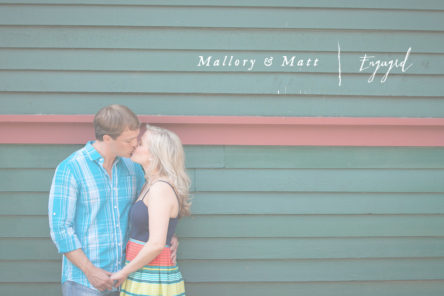 A sweet engagement session in Atlanta Georgia photographed by Drew Newman Photographers.