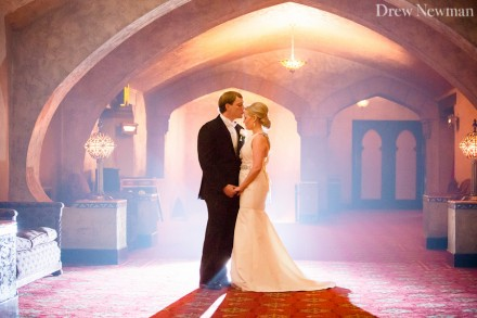 A stunning wedding at the Fox Theater of Atlanta Georgia captured by Drew Newman Photographers.