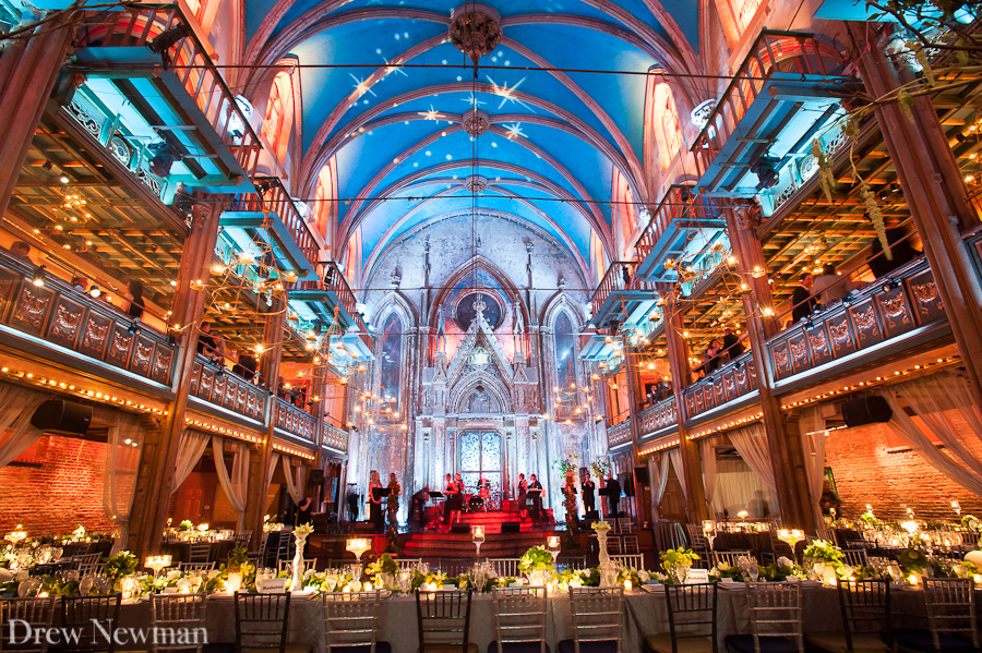 Drew Newman Photography captures an amazing wedding at the Angel Orensanz Center in New York.