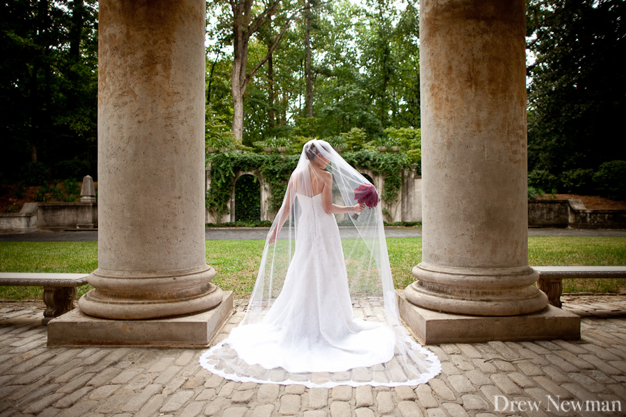 Atlanta History Center wedding photos and Swan House wedding photos - captured by Drew Newman Photographers.