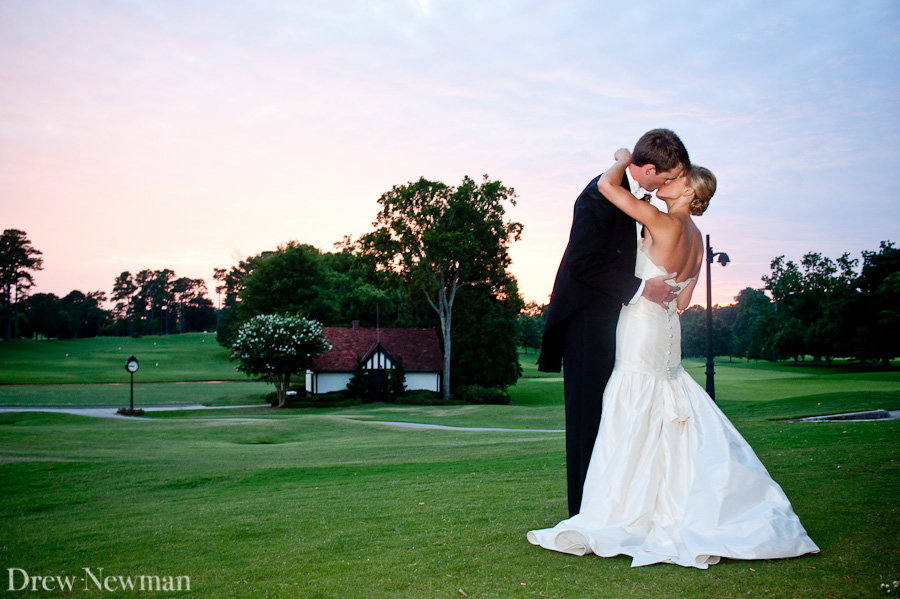 A stunning wedding at the East Lake Golf Club captured by Drew Newman Photographers in Atlanta, Georgia.