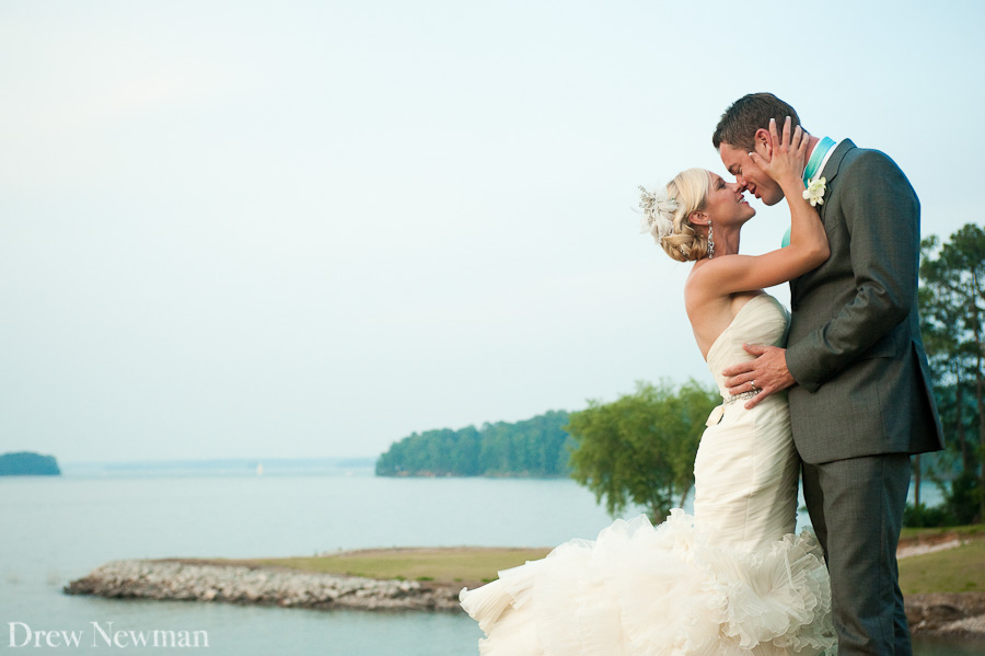 A stunning Lake Lanier Islands wedding captured by Drew Newman Photographers.