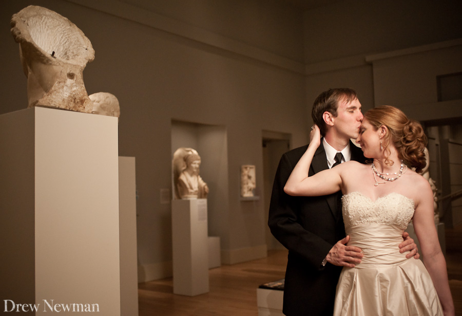 Drew Newman captures a sweet wedding at the Michael C. Carlos Museum in Atlanta Georgia.