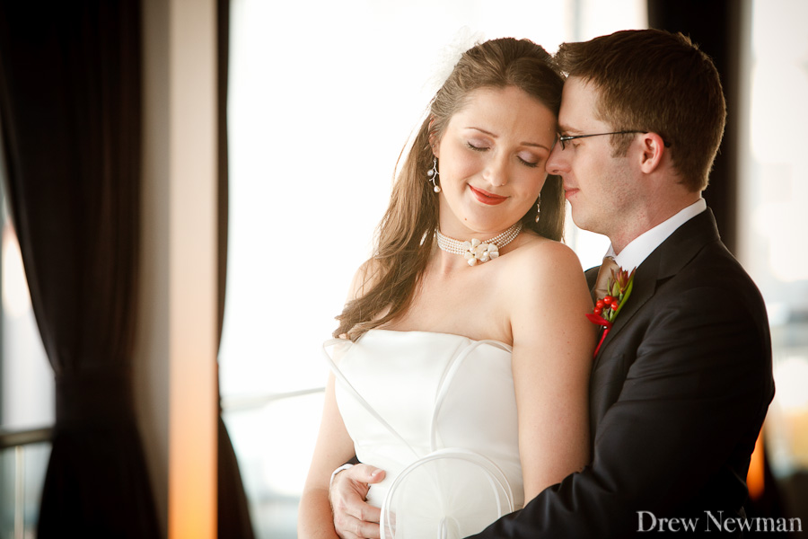 A lovely modern wedding at Ventanas captured by Drew Newman Photographers.